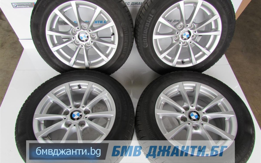 Зимни Гуми 6.5мм DOT2613 и Оргинални Джанти BMW Style 390