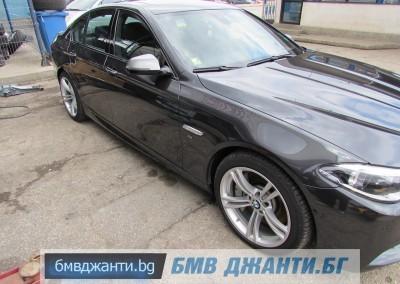 BMW Style 408M @ BMW F10 M550xd 12