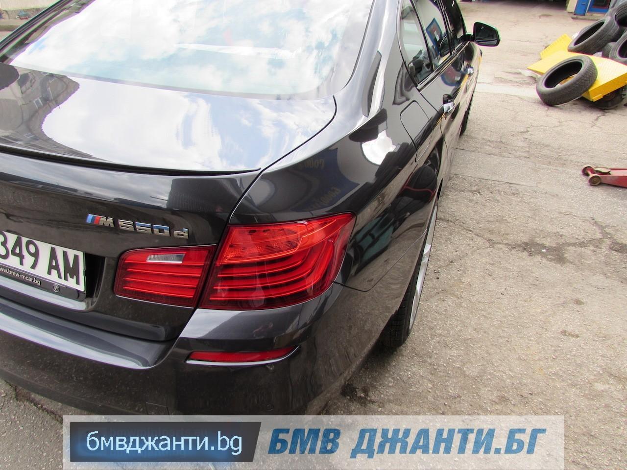 BMW Style 408M @ BMW F10 M550xd 14
