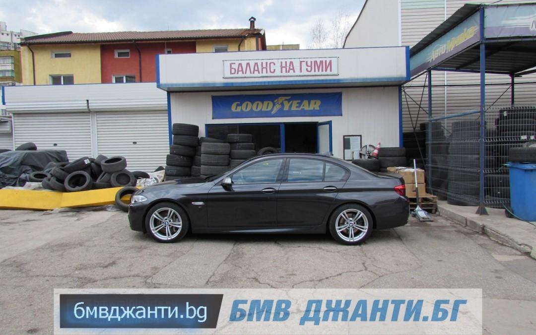 Галерия: BMW Style 408M @ BMW F10 M550xd