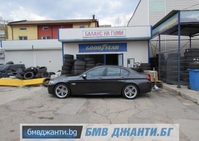BMW Style 408M @ BMW F10 M550xd 15