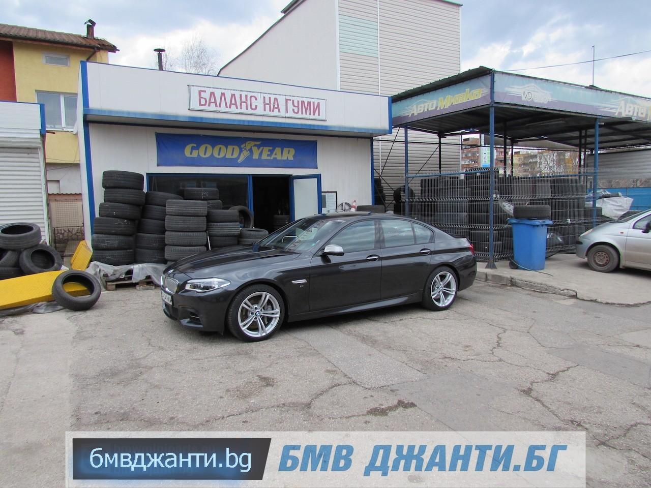 BMW Style 408M @ BMW F10 M550xd 16