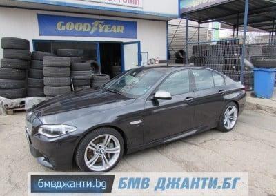 BMW Style 408M @ BMW F10 M550xd 2