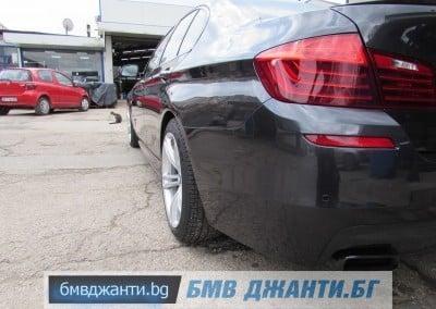 BMW Style 408M @ BMW F10 M550xd 8