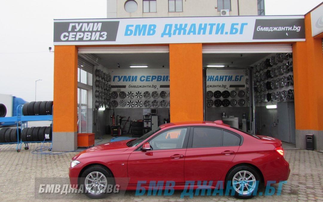 Галерия: Оригинални Джанти BMW Style 390 монтирани на BMW F30