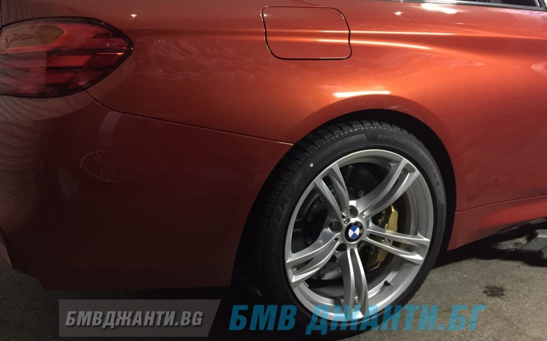 Галерия: Оригинални Джанти BMW Style 408M монтирани на BMW M4