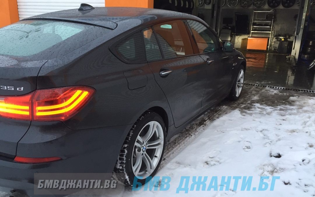 Галерия: Оригинални джанти BMW Style 408M монтирани на BMW F07 GT