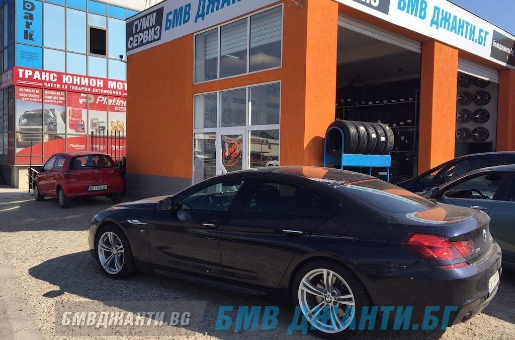 Галерия: Оригинални джанти BMW Style 408M монтирани на BMW 6 Серия F06 GC