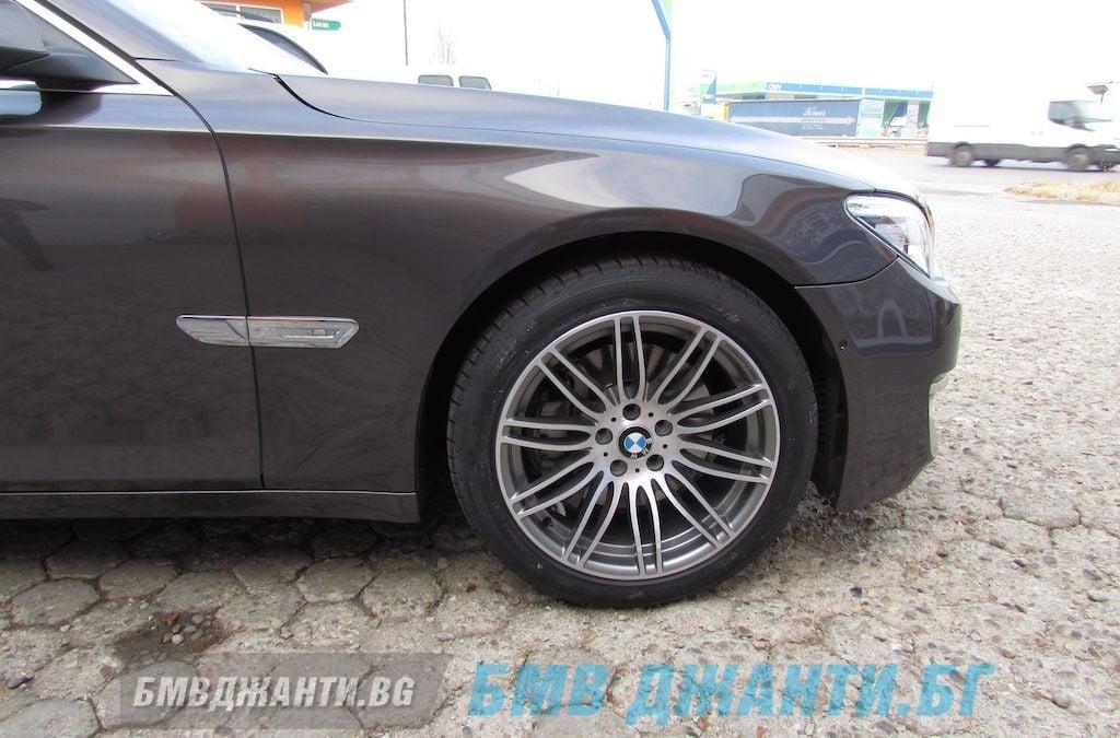 Галерия: Оригинални джанти BMW Performance Style 269 монтирани на BMW F01 740i