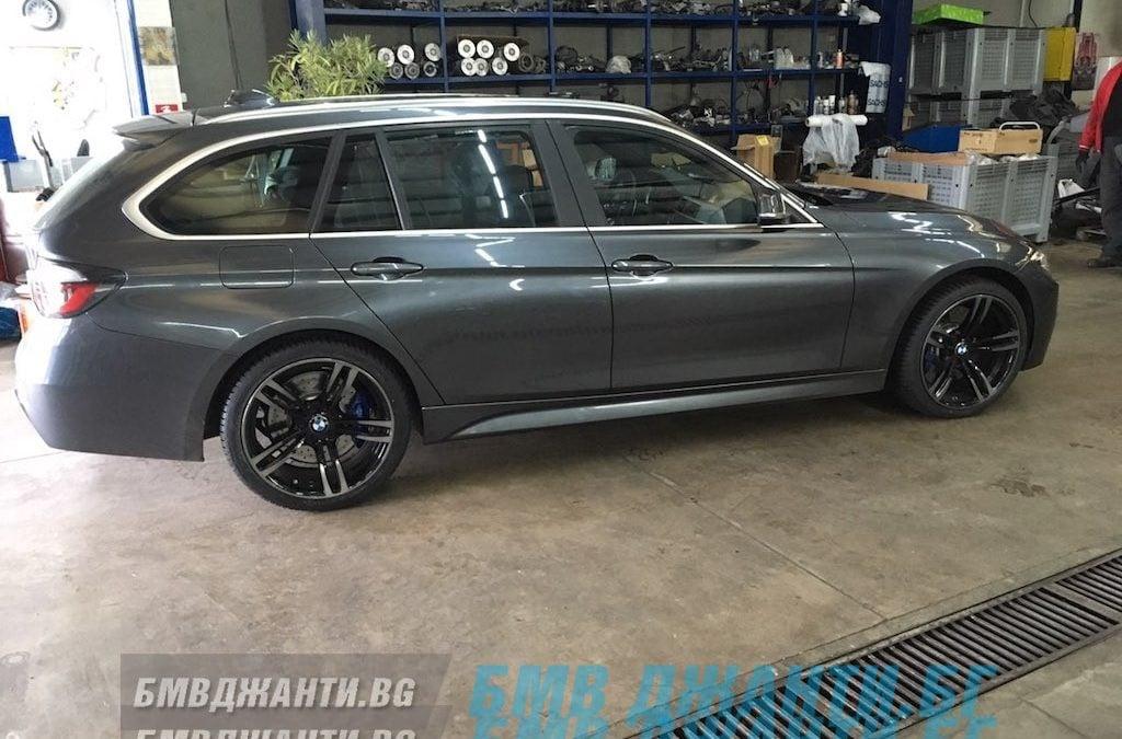 Галерия: Оригинални Джанти BMW Style 437 M Монтирани на BMW F31