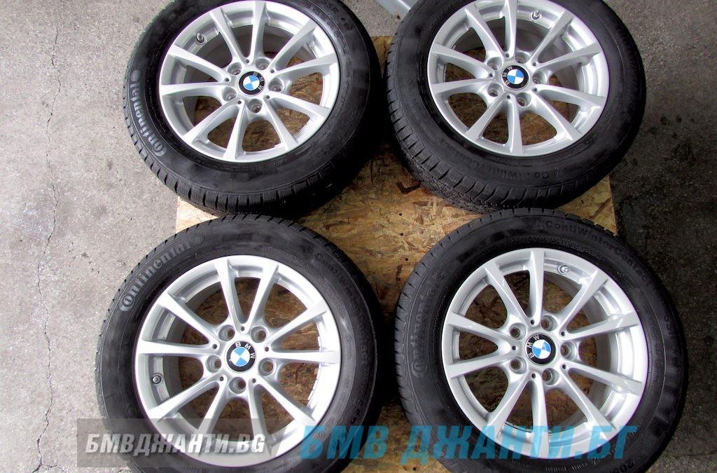 Зимни Гуми 7.5мм DOT3715 и Оргинални Джанти BMW Style 390