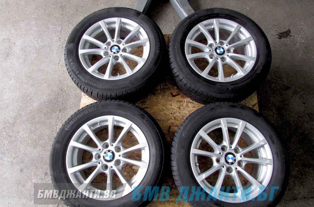 Зимни Гуми 7мм DOT2716 и Оргинални Джанти BMW Style 390
