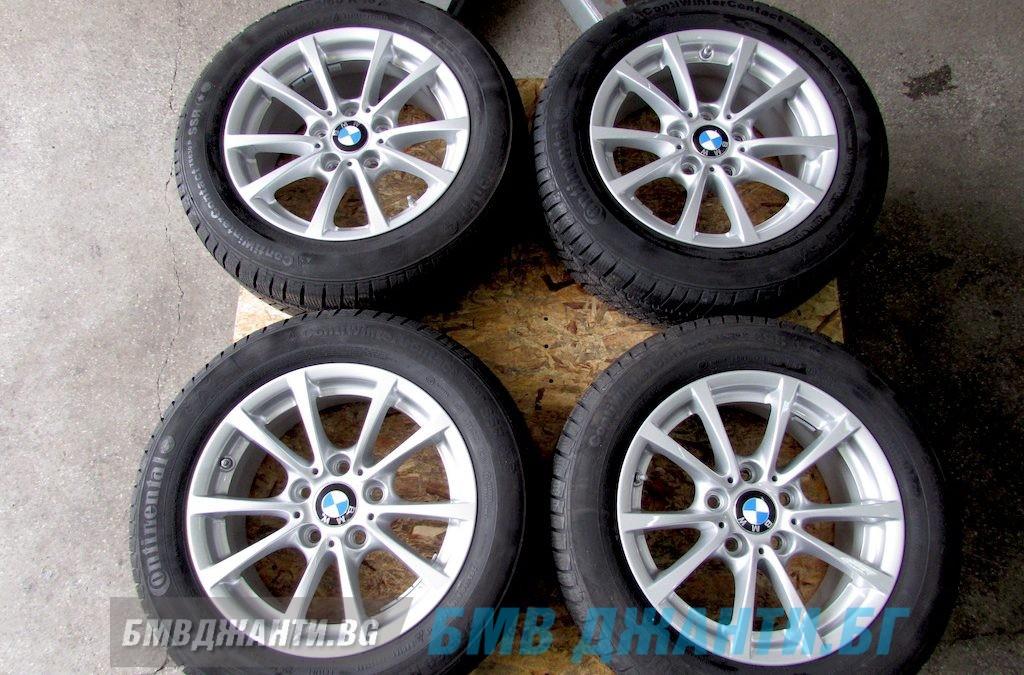 Зимни Гуми 8+мм DOT1216 и Оргинални Джанти BMW Style 390