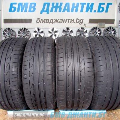 Предни гуми Bridgestone Potenza S001 RFT 225/45 R18 91Y *, runflat Задни гуми Bridgestone Potenza S001 RFT 255/40 R18 95Y *, runflat