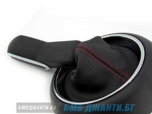 Топка за скоростен лост с кожен маншон за MINI Sport Automatic F54 F55 F56 F57 F60