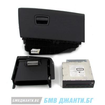 DVD changer кутия и жабка за BMW 1 3 5 6 7 X3 и MINI F55 F56