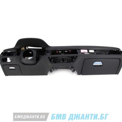 Арматурно кожено табло с Head-Up за BMW 7 Серия G11 G12 SCHWARZ (забележки)