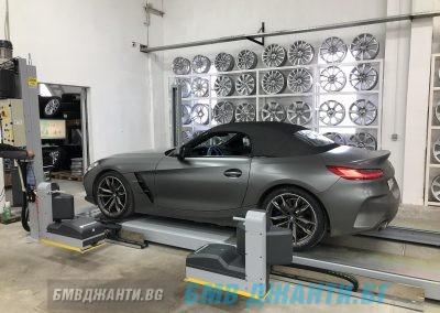 Безконтактен 3d Реглаж BMW Z4