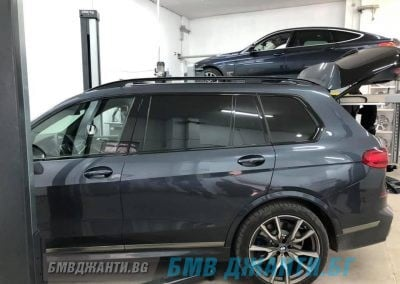 Безконтактен 3d Реглаж BMW X7