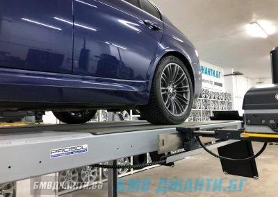 Безконтактен 3d Реглаж BMW M3