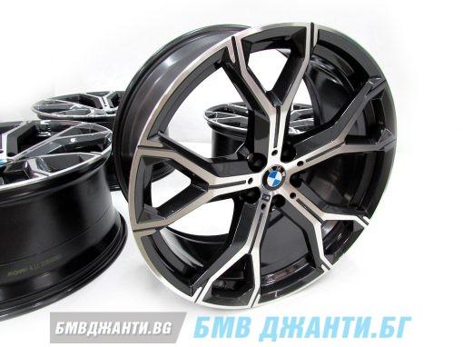Комплект 4бр НОВИ Оригинални джанти BMW Style 741M Orbitgrey X5 G05 X6 G06