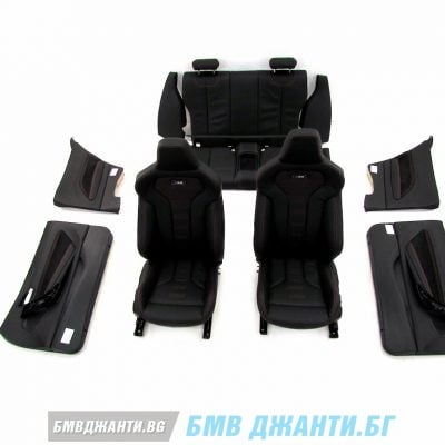 Комплект салон MDOE Leather Dakota perforated black orange BMW F87 M2 LCI M2 Competition 7км